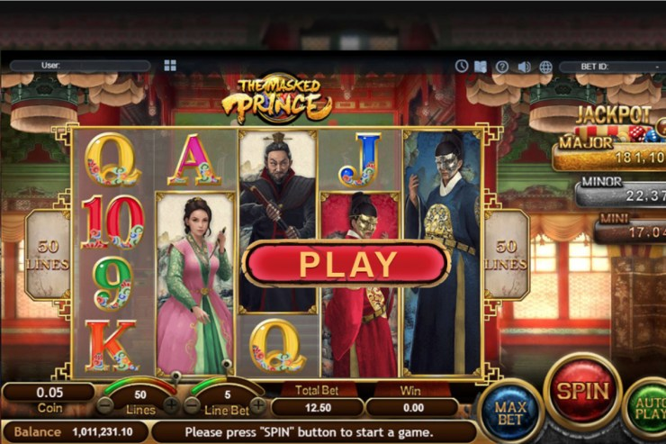 Korea-themed slot game
