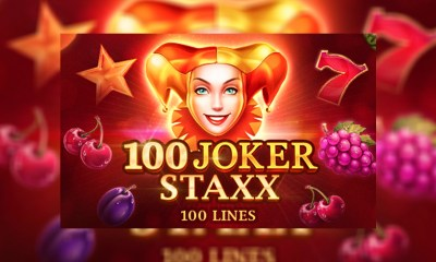 100 Joker Staxx Makes Its Debut at Playson Sites According to Tunf