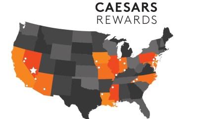 Caesars Entertainment Launches Caesars Rewards Loyalty Program
