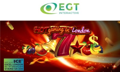 EGT Interactive at London event with even more pleasant surprises