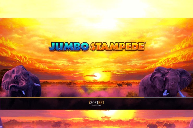 iSoftBet unleashes Jumbo Stampede slot