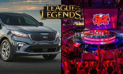 Kia teams up with League of Legends