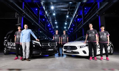 Mercedes-Benz and FC Köln buy stakes in SK Gaming