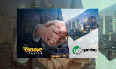 GrooveGaming announces 1x2Network deal
