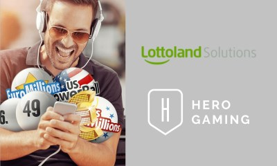 LOTTOLAND SOLUTIONS ENTERS INTO A LOTTO PARTNERSHIP WITH LEADING OPERATOR HERO GAMING