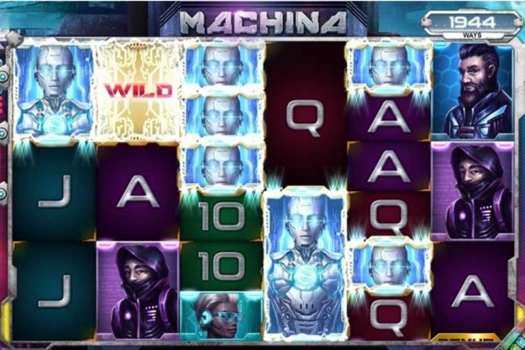 Kalamba Games - Machina slot