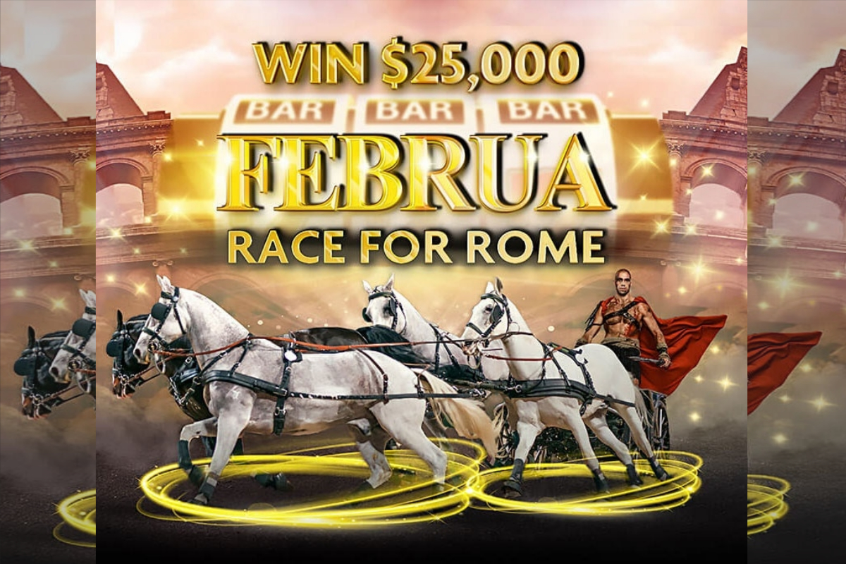 Rich Casino Holds Daily Februa - Race for Rome! Championship Throughout February