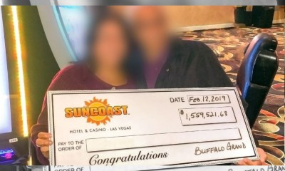 Las Vegas Valley Local Wins $1,559,521.68 Playing Aristocrat's Buffalo Grand™ at Suncoast Hotel & Casino
