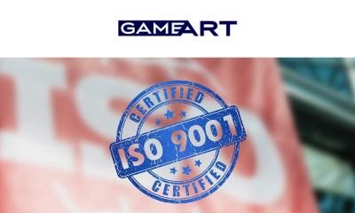 Slot Provider GameArt Awarded ISO 9001 Certification