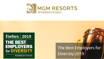 MGM Resorts International ranked No  18 on Forbes' list of
