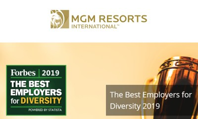 MGM Resorts Named One of America's Best Employers for Diversity by Forbes