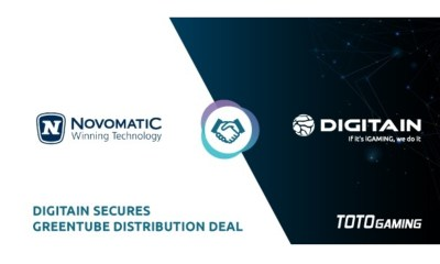 Digitain Secures Greentube Distribution Deal