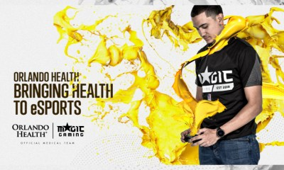 Magic Gaming Teams Up with Orlando Health for Esports Partnership