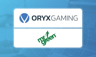 Green light for ORYX's integration with Mr Green