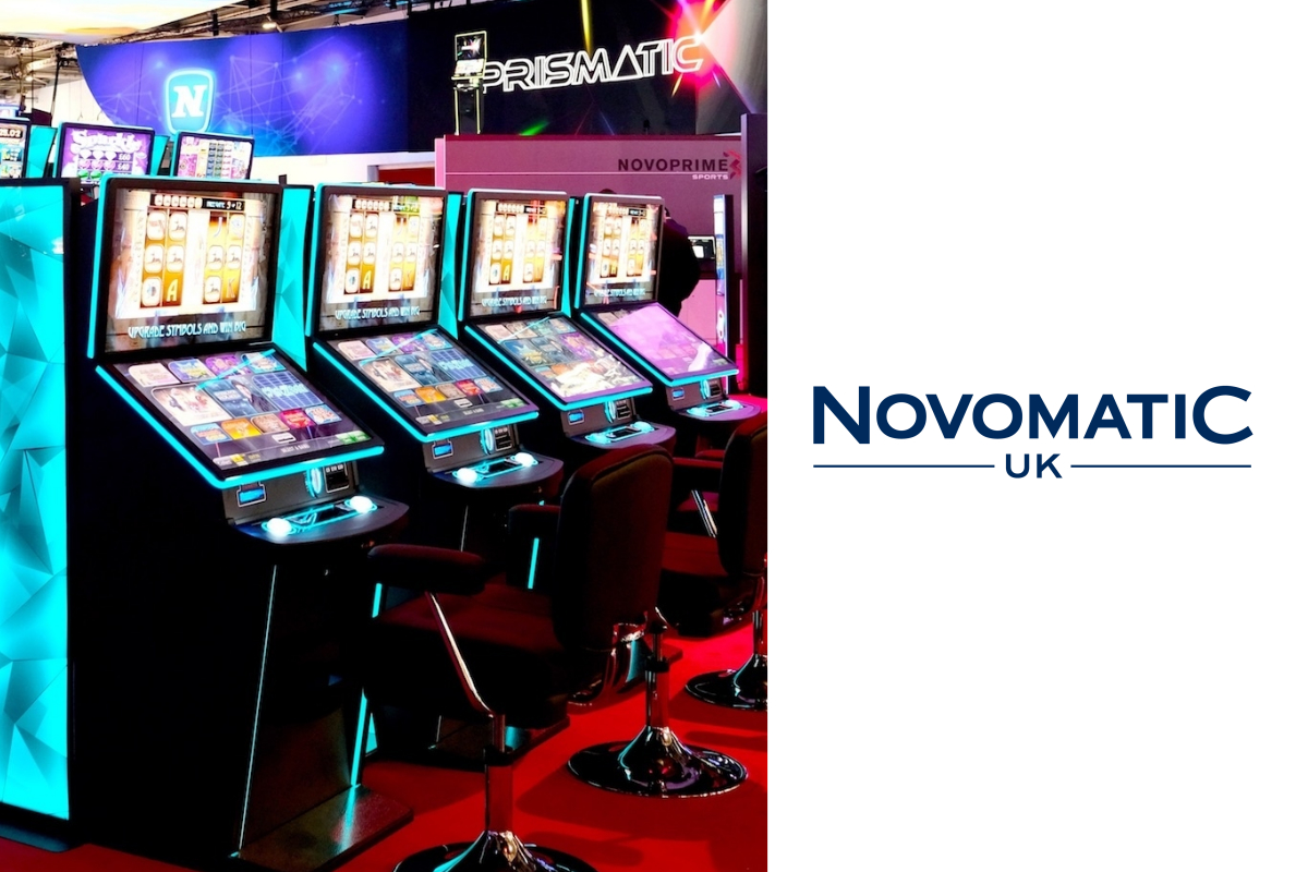 Novomatic UK 'deliver the experience' at ICE as Prismatic orders continue to soar