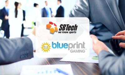 Blueprint Gaming integrates slots portfolio with SBTech