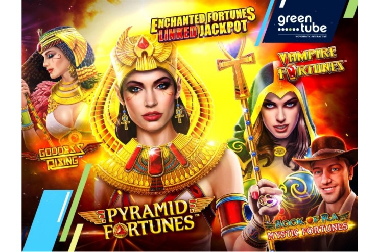 Four great slots, one linked jackpot!