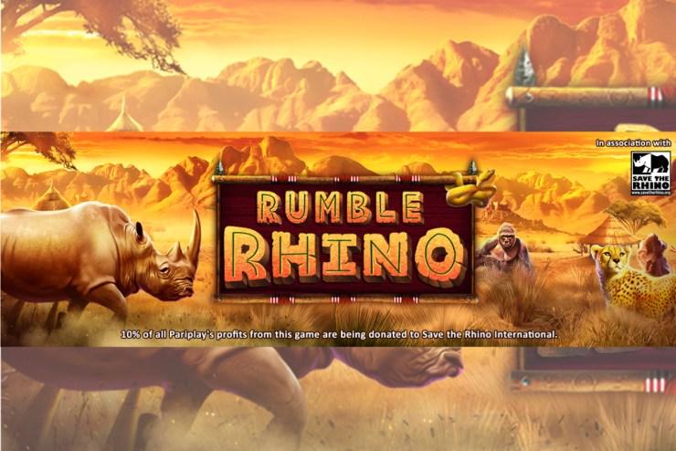 Pariplay's New Rumble Rhino Slot