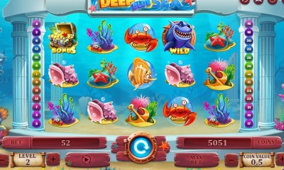 Get into the Summer vibe with Fugaso's fun new slot 'Deep Blue Sea'