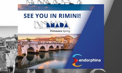 Endorphina will be at Enada Primavera in Rimini