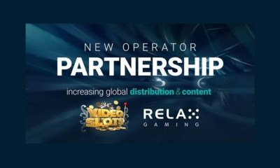 Relax Gaming strikes Videoslots agreement