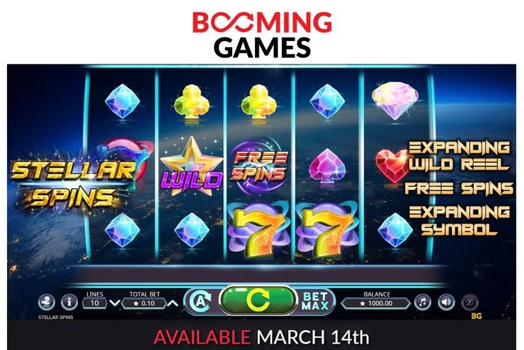 Booming Games - Stellar Spins