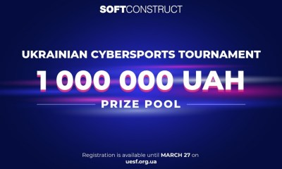 The biggest Cybersports tournament in Ukraine is with the 1,000,000 UAH prize pool