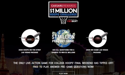 FanBeat Partners with Caesars Entertainment for the $1 Million Hoops Challenge