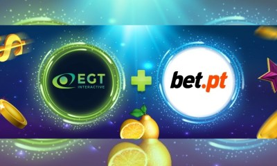 EGT Interactive games LIVE on SBtech Platform with Bet.pt