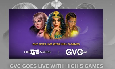 GVC goes live with High 5 Games