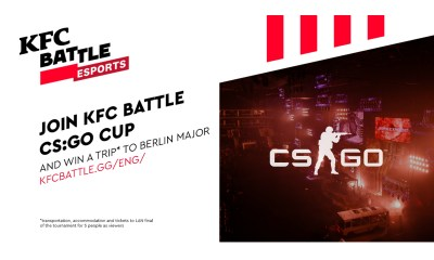 KFC to hold its first esports championship in Central and Eastern Europe as part of KFC BATTLE