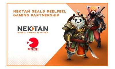 Nektan seals ReelFeel Gaming partnership