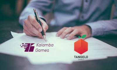 Kalamba Games live with Tangelo Games