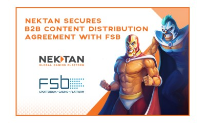Nektan Secures B2B Content Distribution Agreement With Sportsbook Platform Provider FSB