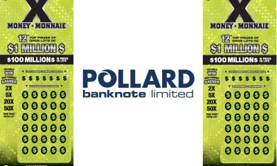 Pollard Banknote Receives Five-Year Contract Renewal From The Interprovincial Lottery Corporation