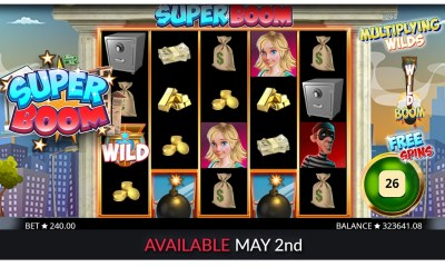 Super Boom slot from Booming Games