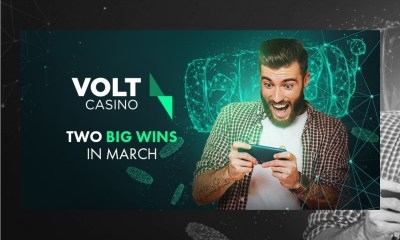 Two players win big at Volt Casino in March