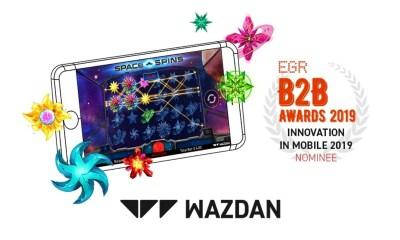 Wazdan shortlisted for the prestigious EGR B2B Awards