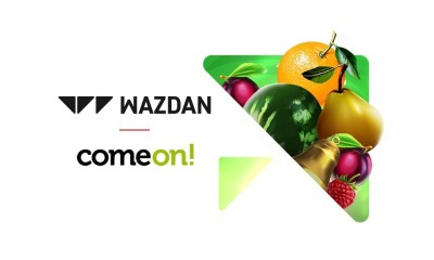 Wazdan and ComeOn announce partnership to go live across ComeOn's brands
