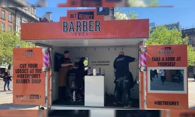 """GambleAware Launches """"Bet Regret Mobile Barbershop Tour"""""""