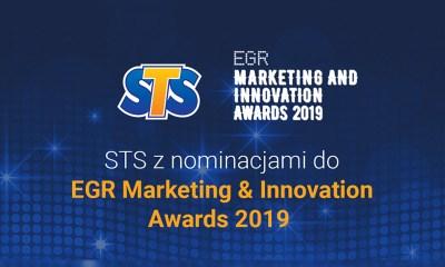 STS gets nominations for EGR Marketing & Innovation Awards 2019 Nominations