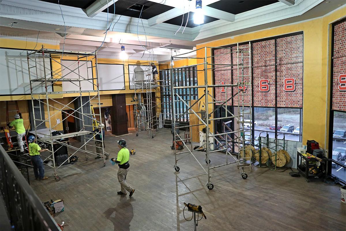 Construction starts on Rivers Casino's Sports Betting Lounge