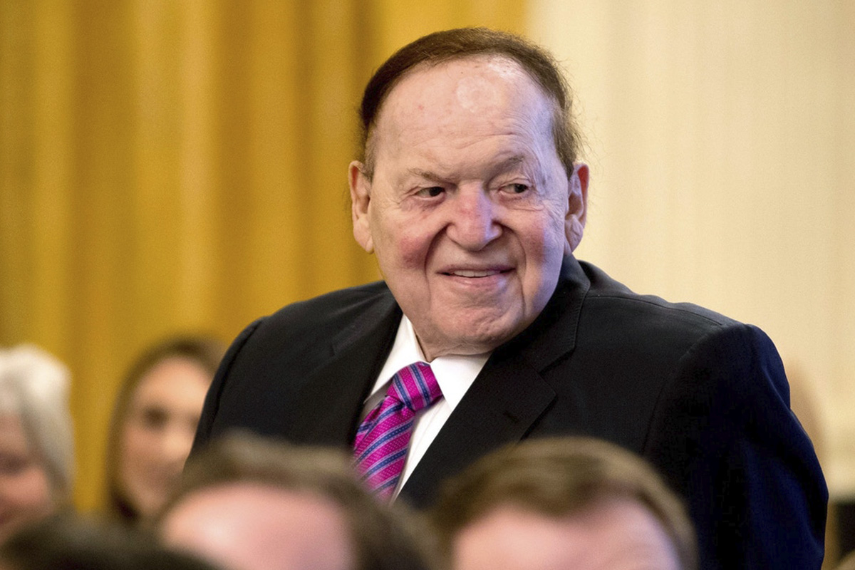 Sheldon Adelson Becomes Nevada's Highest Paid CEO of 2018