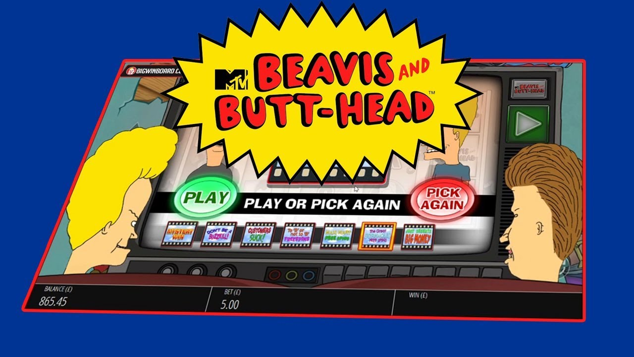 Blueprint Gaming brings iconic duo Beavis and Butt-HeadTM to the casino world