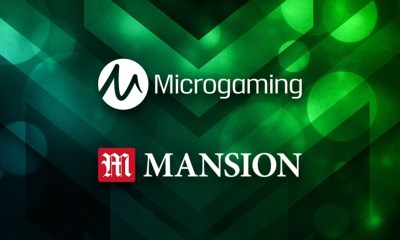 Microgaming content live with Mansion