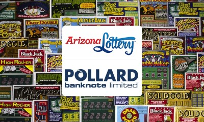 Arizona Lottery Awards Pollard Banknote Instant Ticket Warehousing and Distribution Contract