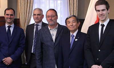 Groupe Lucien Barriere Showcases Interest in Wakayama; Announces Jean Reno as Brand Ambassador
