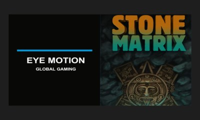 Stone Matrix game powered by Eye Motion