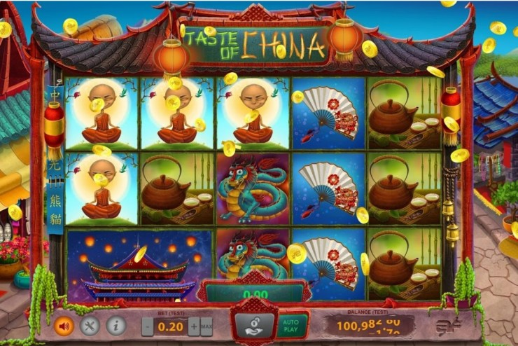 BF Games  with Taste of China slot