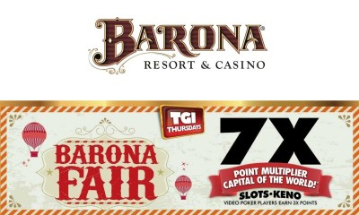 Barona Resort & Casino Offers Extra Points and Chances to Win BIG Cash Prizes